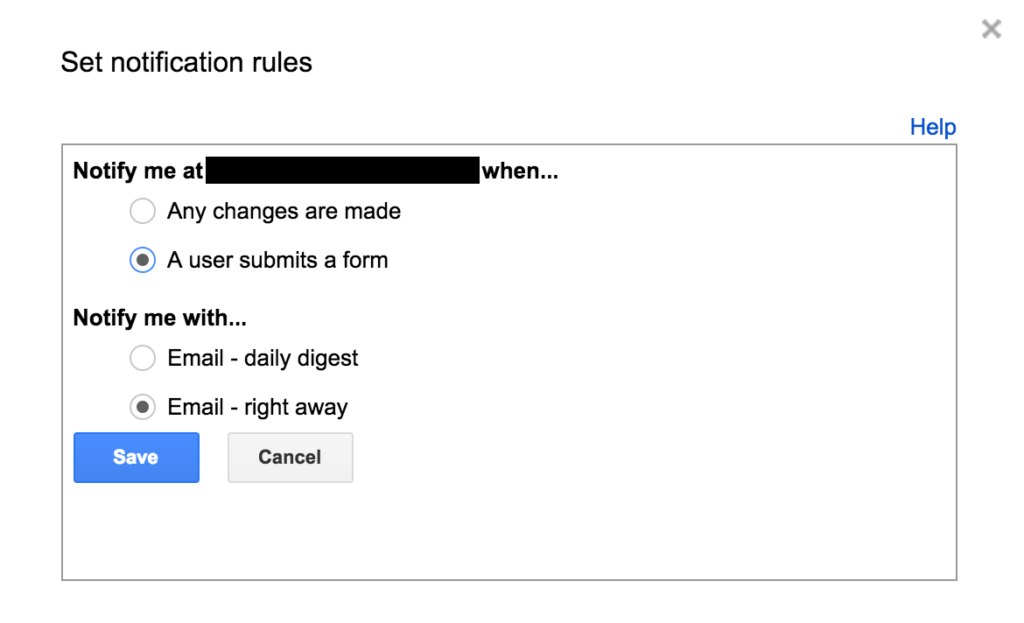 """Set Notifications Rules, Redacted,"" by @iamTalkyTina"