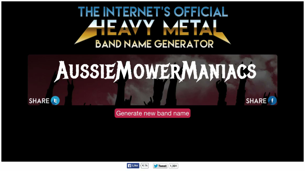 """AussieMowerManiacs"" for @rowan_peter"