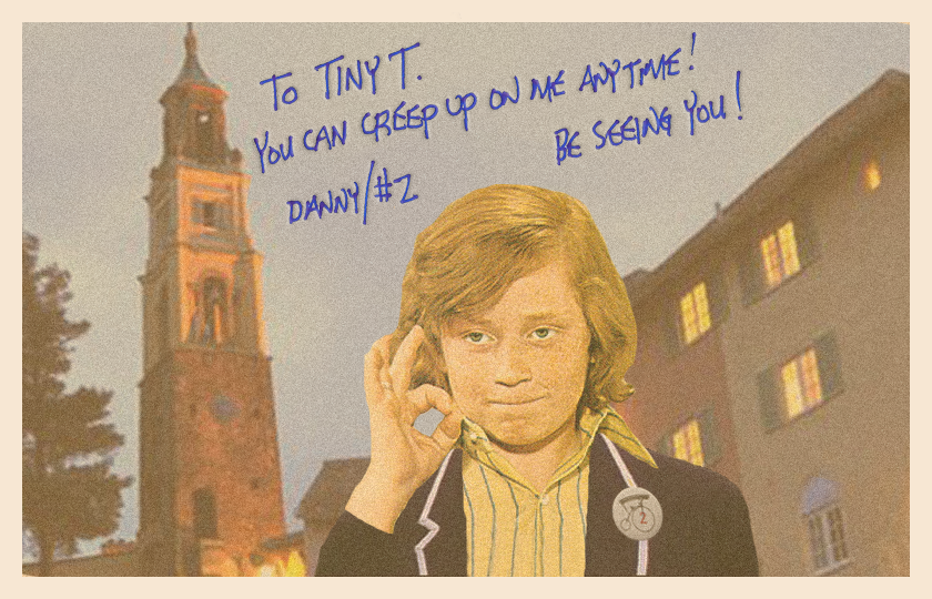 """Danny was a Smooth Talker,"" photo from @iamTalkyTina archive"